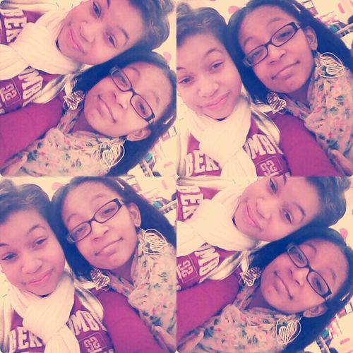 Chillen with this girl the other day dfl