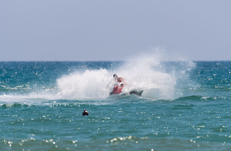 Daytime Holidays Extreme Sports Horizon Over Water Leisure Activity Motion One Person Outdoors Sea Splashing Summer Vacations Water Waterfront Wave Done That.