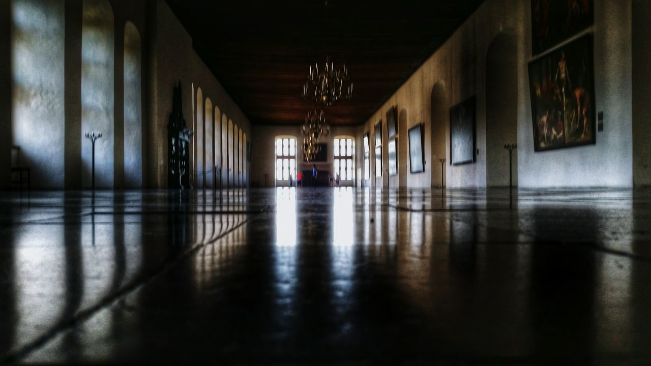indoors, corridor, flooring, architecture, architectural column, built structure, day, daylight, no people