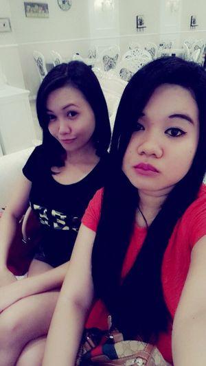 Selfie Having Fun :) w My Bff <3 Beauty Asian Girl