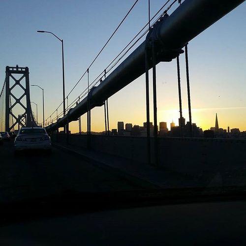 My beautiful Sanfrancisco FogCity Sflife Sfbayarea Citybythebay Citylife Cantgetenough Baybridge Sunset Lovelife Latepost Exploresanfrancisco Sfdreaming