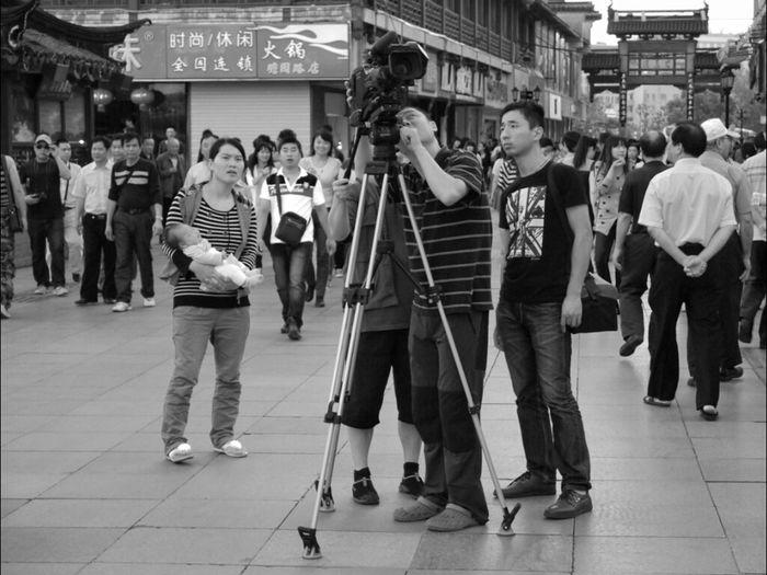 Streetphotography Blackandwhite Taking Photos China GangPolos