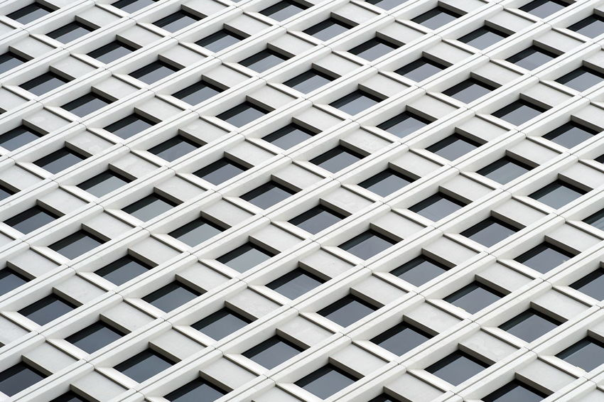 Façade The Architect - 2018 EyeEm Awards Abstract Architecture Backgrounds Building Exterior Built Structure Full Frame Geometry Pattern Repetition Windows