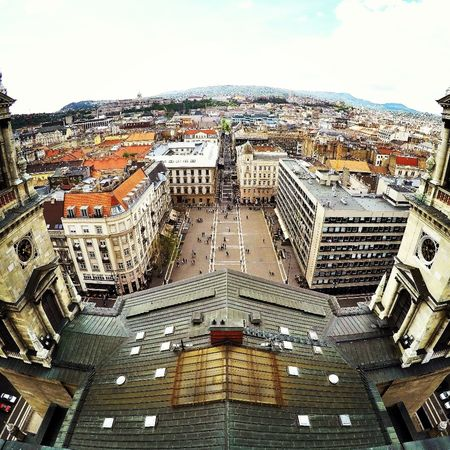 #Basilica #budapest #citylife #Gopro #urban #view Architecture Building Exterior Built Structure City Cityscape Day No People Outdoors Sky