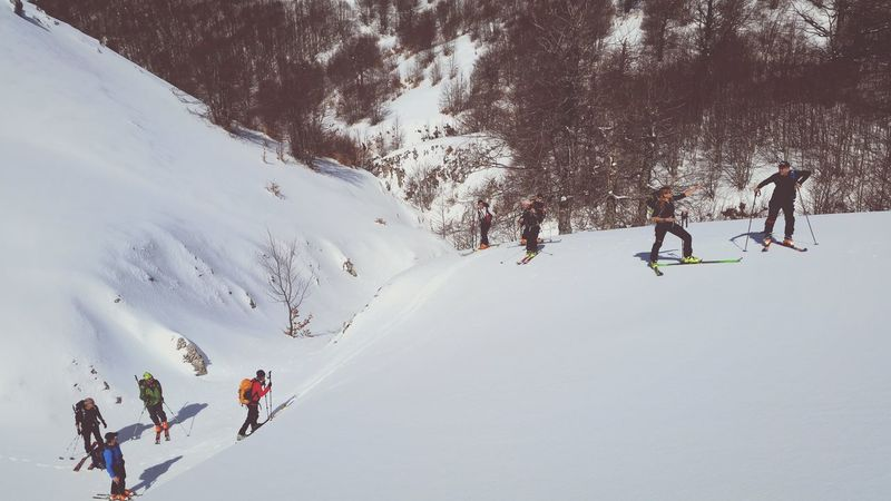 Nature Abruzzo Parconazionaledabruzzo Skialp Enjoying Life Mountain EyeEm Best Shots Snow Scialpinismo Go Higher