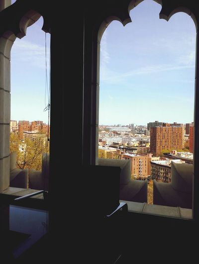 Overlooking Harlem. College Life