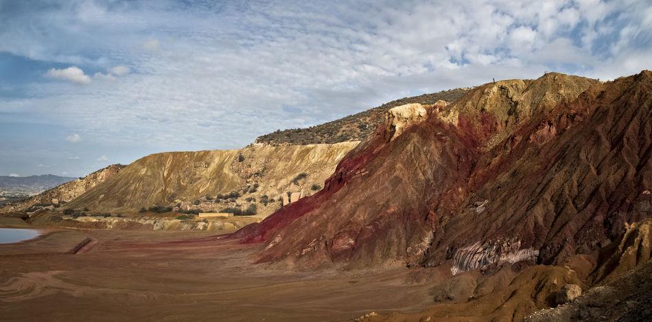 Beauty In Nature Day Landscape Mazarrón, Murcia Minas Mountain Napatu No People Outdoors Scenics