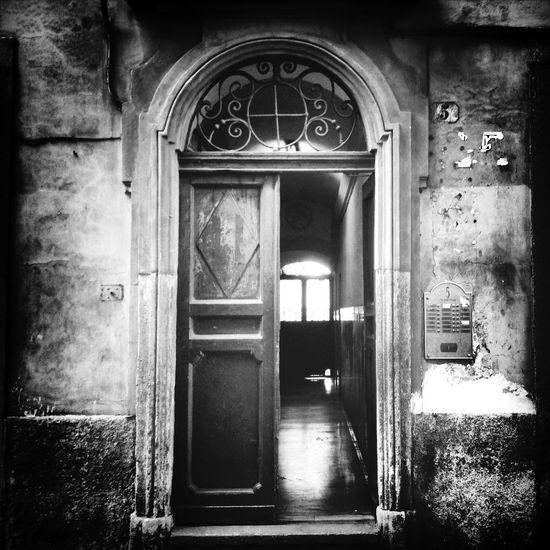 Streetphotography Blackandwhite Black And White Door