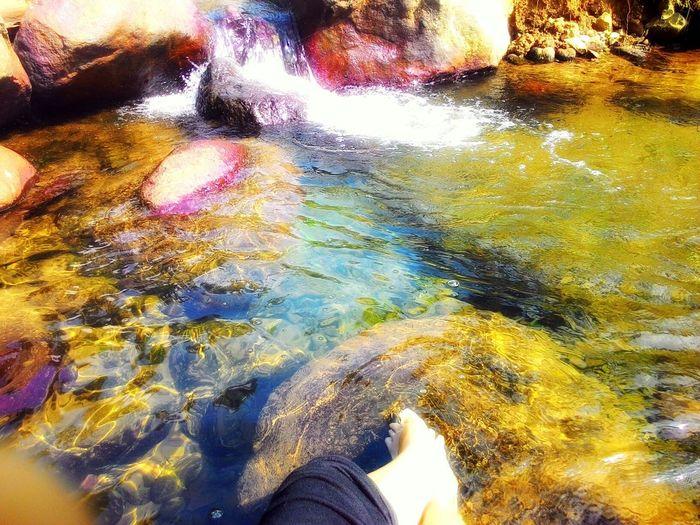 Stream @ Desa Cidahu, Sukabumi. INDONESIA Visit Indonesia Water River Sparkling Clear Nature Gunung Salak