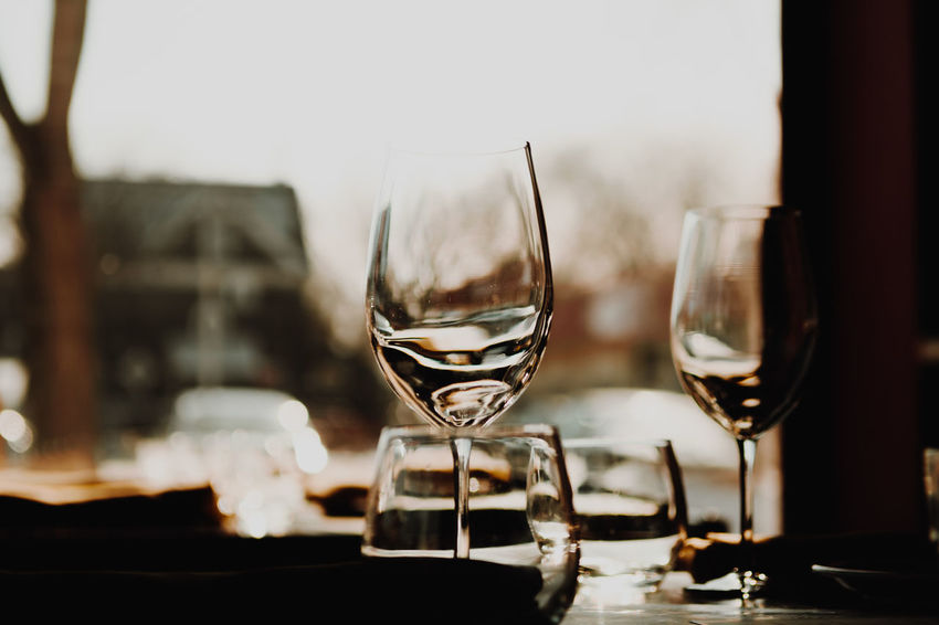 Date night - set table Date Close-up Date Night Day Drink Drinking Glass Focus On Foreground Food And Drink Freshness Indoors  No People Refreshment Restaurant Set Table Table Wine Wineglass
