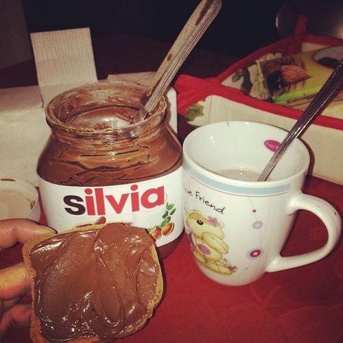 🍫🍪 Nutella mon amour ❤️ Nutellanome Silvia Me