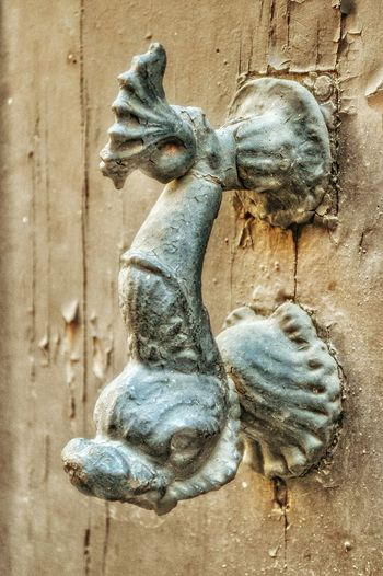 """Fishy Handle"" - Roma Rome Roma Photobydperry Close-up No People Doorknob Doorhandle Doorhandles Door"