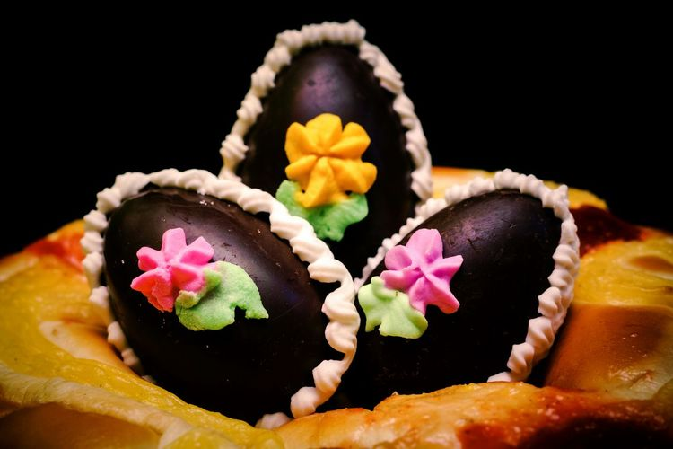 Close-up of easter cookies