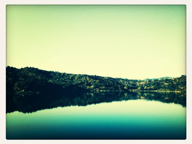 Resevoir Water Serenity... Beautiful Day