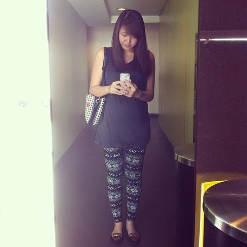Ootd Outfitoftheday Vesakday Prints fashion style wiwt