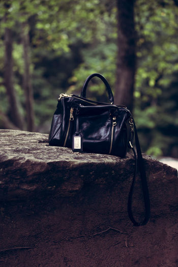 Handbag On Rock
