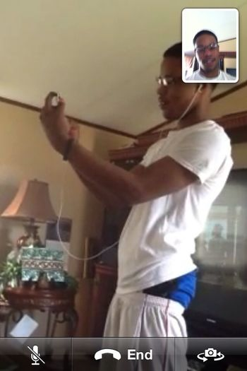 Tango And Facetime Myself Lol.