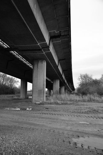 Abandoned Absence Arch Architectural Column Architecture Bridge Bridge - Man Made Structure Built Structure Column Composition Connection Day Diminishing Perspective Engineering In A Row Leading Long M50 Perspective Structure SUPPORT The Way Forward