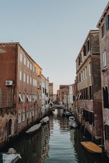Getting lost in Venice was probably the coolest experience of this trip Travel Vacation Travel Destinations EyeEm Best Shots Eyeemphotography EyeEm Selects EyeEm Gallery EyeEmBestPics EyeEm Building Exterior Architecture Built Structure Water Canal City Building Sky No People Reflection Outdoors