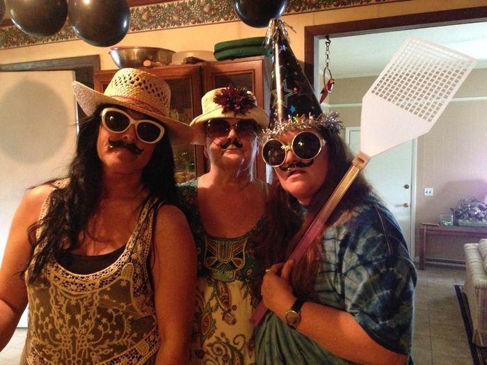 Darlene's mustachio birthday.