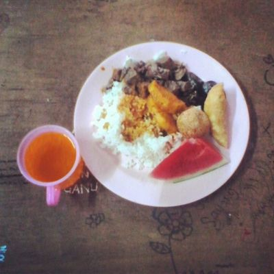 it's time for iftar. Ikmlumut