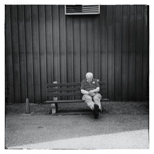 Sleeping Streetphotography Blackandwhite