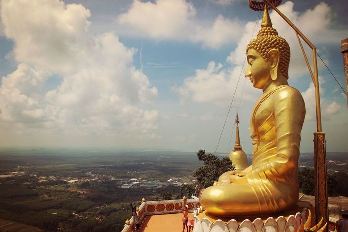 Spotted In Thailand Statue Budhism Relegion Landscape Buddha