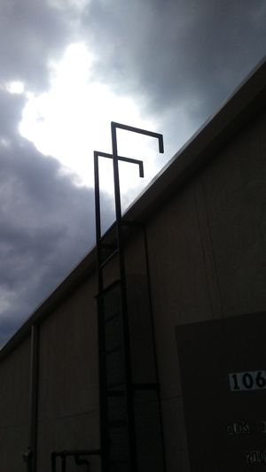 Low Angle View Cloud - Sky Sky Prison No People Day Outdoors