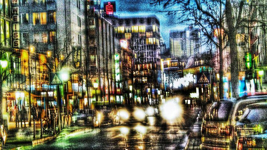 this is no Comic Tadaa Community Playing Colours Colorsplash Nightphotography Light And Shadow Night Lights Urban Photography Streetphotography Downtown Light Frankfurt Am Main Christmas Around The World Mainhattan Frankfurt-Comix Streets Of Frankfurt