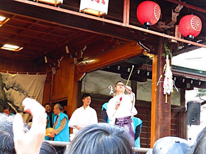 豆まき 節分祭 節分の日 神社 住吉神社 Japanese  Japanese Style Japanese Culture Shrine