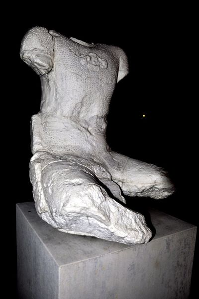 Aix En Provence Incomplete Body Marble Night Sculpture
