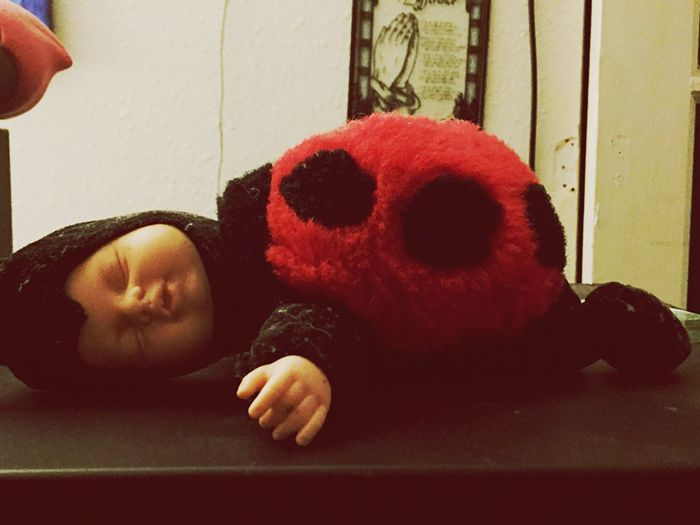 Ladybug baby doll