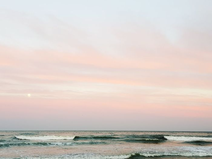 Sunset Beach Sky Tranquility Business Finance And Industry Cloud - Sky Nature Outdoors Scenics Water Sea Horizon Over Water Sand No People Beauty In Nature Landscape Industry Day Salt - Mineral Low Tide