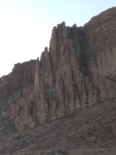 Mountain Clear Sky Desert Cliff Steep Mountain Peak Rock - Object Rock Formation Sky Landscape