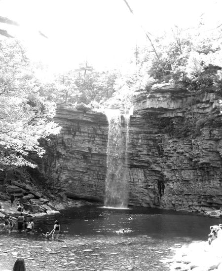 B&w Photography Black & White Black And White Photography Canyon Cliff Falls Geology Hudson Valley Minnewaska State Park Natural Swimming Pools Nature New York State Pars Outdoors Rock Rock Formation Rocky Scenics Summer Sunlight And Shadow Waterfall Waterfalls