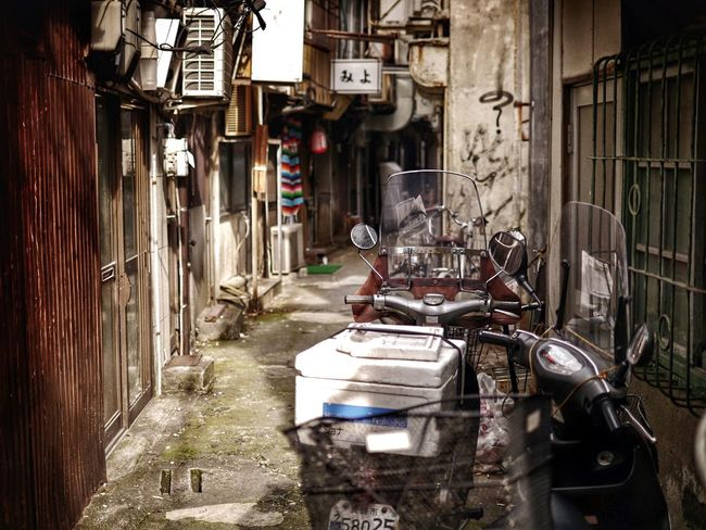 Backalley Walking Streetphoto_color Depth Of Field somewhere Nagasaki Realistic na 路地裏の散歩者
