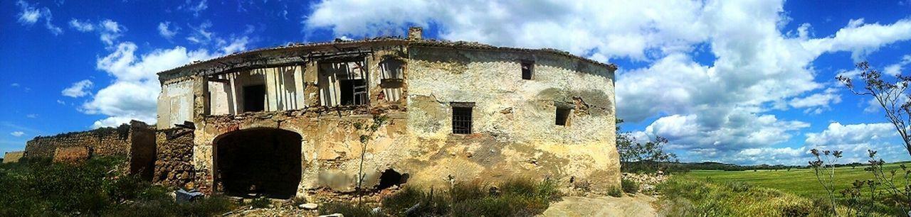 EyeEm Sky Abandoned Catalunya Clouds And Sky Beauty Of Decay Rural Scenes Catalonia Paisatges Catalans EyeEm Best Shots