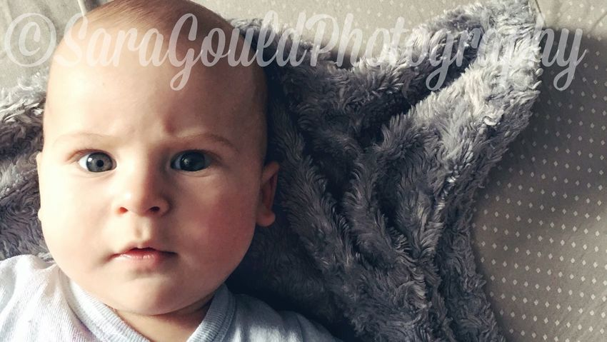 EyemFiveSenses Eyemfivesensessight Babyboy Blue Eyes Alberta Iphonephotography