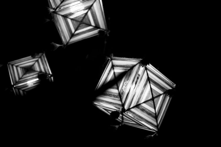 Abstract Black Background Blackandwhite Illuminated Indoors  Ligth And Shadow Tecture