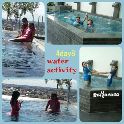 Day8 : water activity... as a kid, water activity is always fun for both of my girls.. SeptemberPhotoChallenge Photochallenge Wnephotochallenges alfanova elfacaca parentkidsphotovideochallenge cc.: @babyhijaber