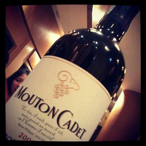 MoutonCadet Wine at PizzaHutBistro