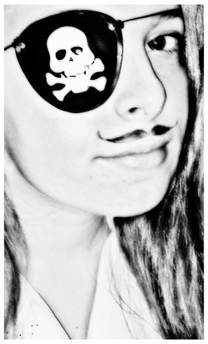 Mustache Digital Manipulation Enhanced Filterphotography EyeEm Challenge Pirate Halloween Costume Be Mustachelicious Hippykid Kreatives SF Young Women Dressing Up Smile It's A Thousand Storys Behind This One Smile :) Pretty Face  Maralotta Swashbuckling Argh EyeEmBestEdits Ay Ahoycaptain Ahoy Hippykidkreatives Posttraumatic Pictures