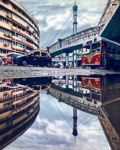 Cloud - Sky Architecture City Reflection Building Exterior Trellingmumbai's Pic