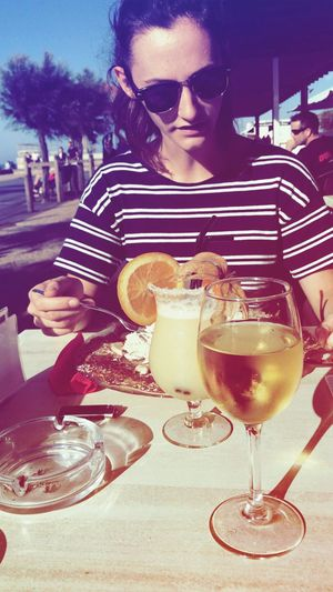 Sun Wineglasses Anglet France First Eyeem Photo
