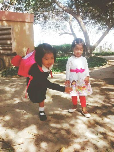Playtime Sisters Sweetkids Happytimes First Eyeem Photo