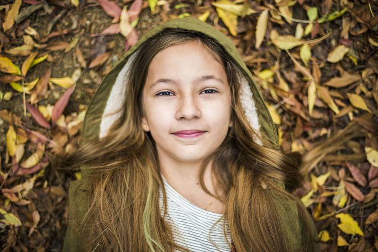 Autumn Autumn Child Childhood Children Only Day Girls Happiness Nature One Girl Only Outdoors People Portrait Smiling First Eyeem Photo
