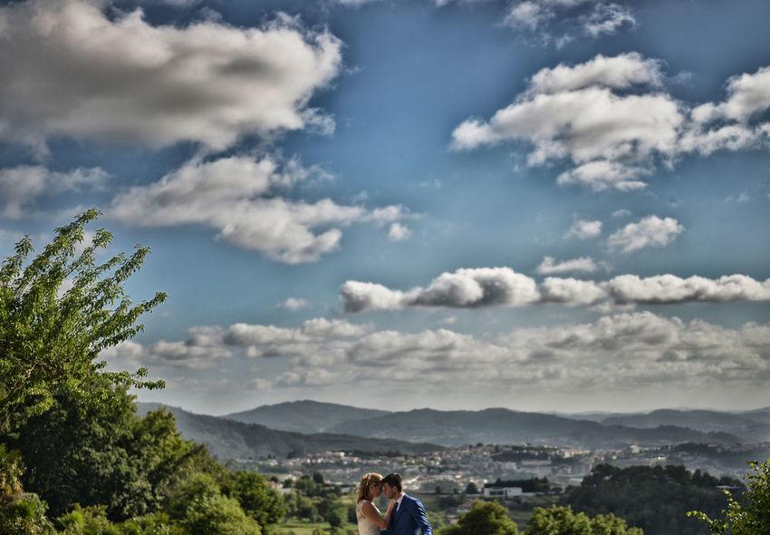 Beauty In Nature Cloud - Sky Mountain Mountain Range Sky Trash The Dress Wedding Wedding Photography Weddingphotographer Weddingphotography