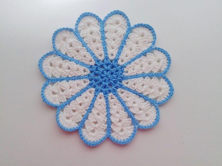 Accesorios DIY Ganchillo Handmade Creativity Crochetlove Crochet Crocheting Is My Hobby Crocheting Blue No People Studio Shot Close-up Indoors  Day