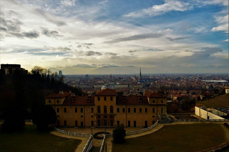 Cityscape Architecture City Building Exterior Sky Travel Destinations Cloud - Sky Built Structure Urban Skyline Sunset No People Outdoors Residential Building Tree Day EyeEmNewHere Landscape Turin Turin (Italy) Italy🇮🇹 Skyscraper Italy Beauty City Cityscape
