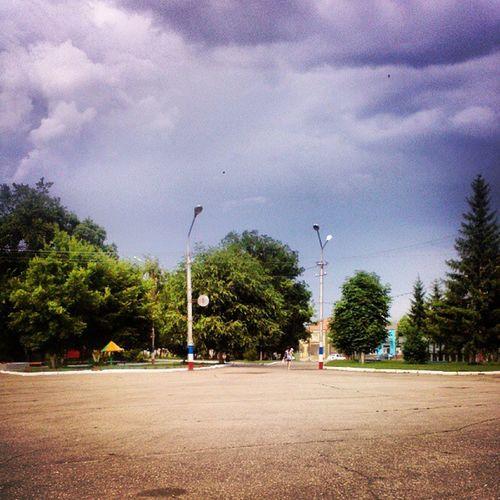 площадь улица лето небо летом sky summer photorussia_daily photorussia